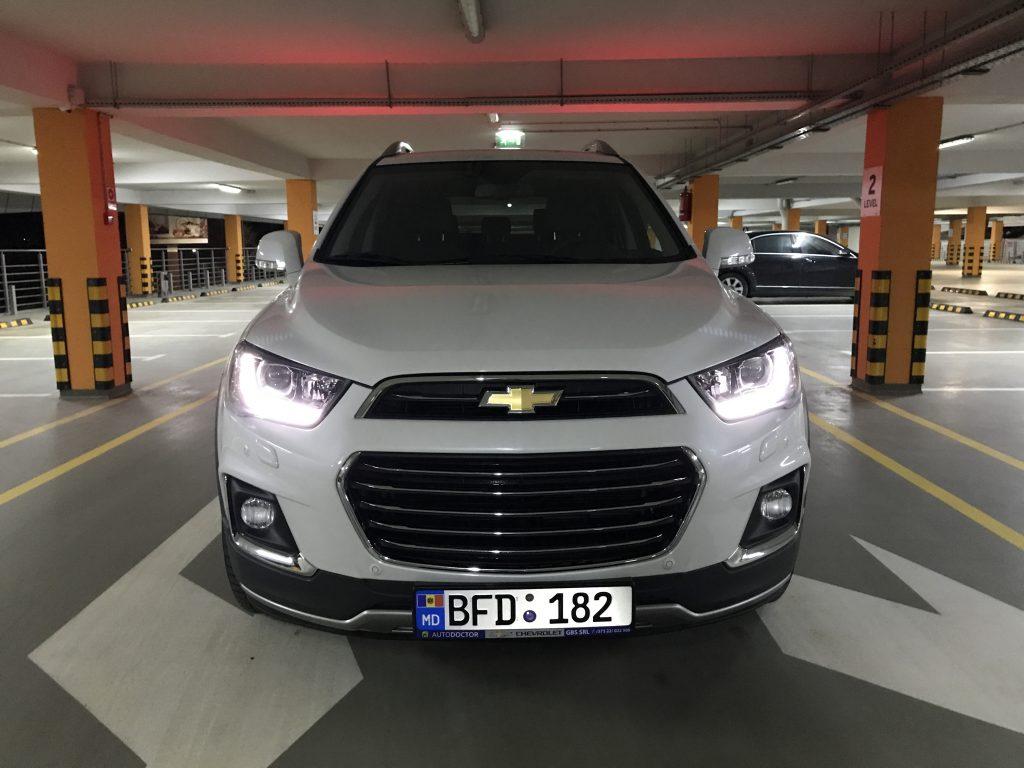 Chevrolet Captiva fata