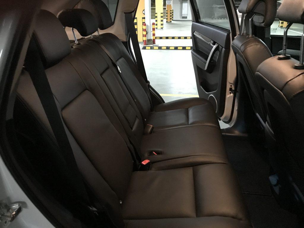 Chevrolet Captiva scaune spate