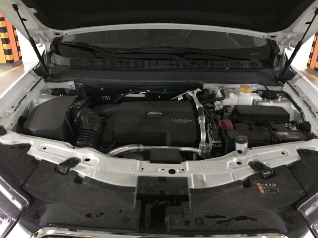 Chevrolet Captiva motor diesel